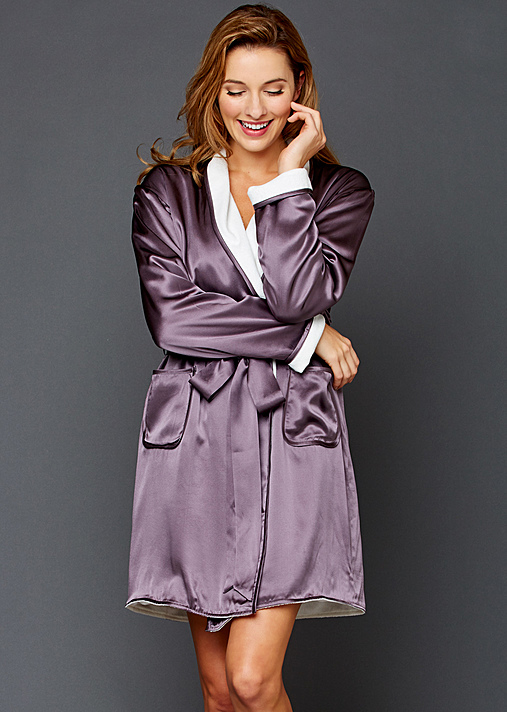 Julianna Rae Luxury Silk Robe Wrap
