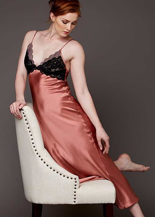 Julianna Rae Chemise | Luxury Ladies Silk Nightgowns