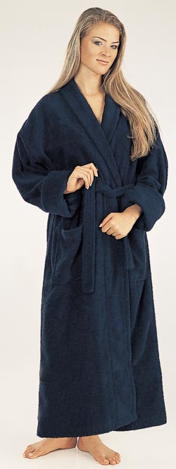 Womes Bathrobes Hooded Full Length Monk Turkish Cotton