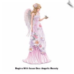 Lena Liu Angelic Beauties Of The Garden Figurine