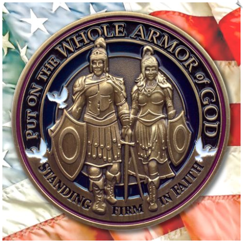 Armor of God Challenge Coin - 1 Each