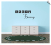 Baby Blessings Blocks Quote