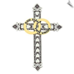 Bands Of Gold Marriage Cross