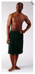 Mens Bath Wraps