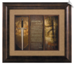 Full Armor of God Framed Christian Artwork