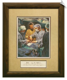 I Will Instruct You Framed Christian Art