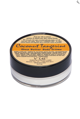 Coconut Tangerine Shea Butter Body Creme