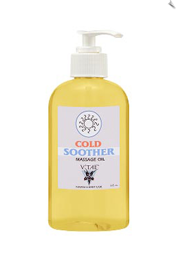 Cold Soother Massage Oil, 8 oz.