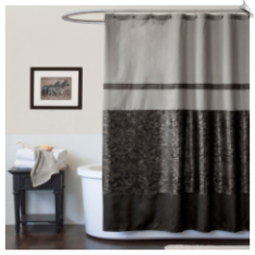 Croc Fabric Shower Curtain
