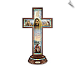 Greg Olsen Light Of Faith Cross Sculpture