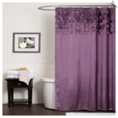 Lillian Fabric Shower Curtain