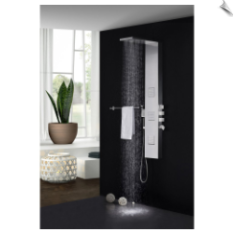 Fresca Modena FSP8011BS Thermostatic Shower Massage Panel