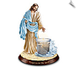 Jesus Christ Inspirational Candleholder Collection
