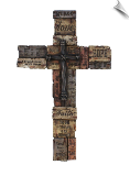 Love, Hope Faith Wall Cross