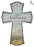 Psalm 23 Lord Is My Shepherd Wall Cross