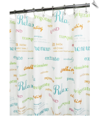 Watershed Refresh Fabric Shower Curtain