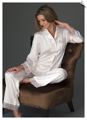 Sleep In Silk Pajama