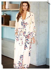 Midnight Stroll Silk Robe