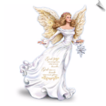"Dona Gelsinger ""My Strength, My Guide"" Angel Figurine"
