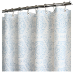 Watershed Venetian Tiles Shower Curtain