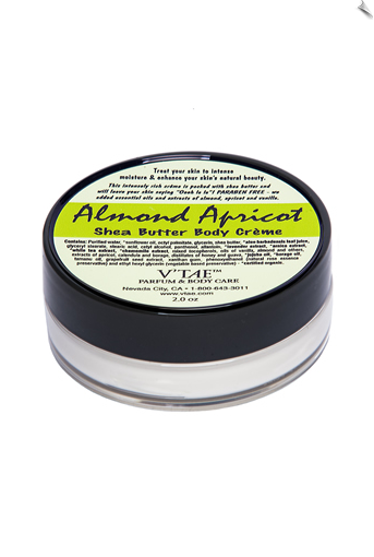 Almond Apricot Shea Butter Body Creme