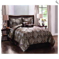 Grandview Comforter Set with Bonus Pillows