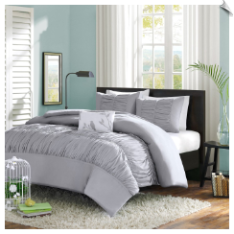 Delia 4 Piece Comforter Set by MiZone