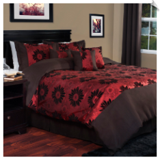 Lavish Home Kiera Comforter Set