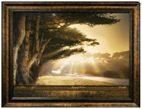 arise shine framed christian artwork