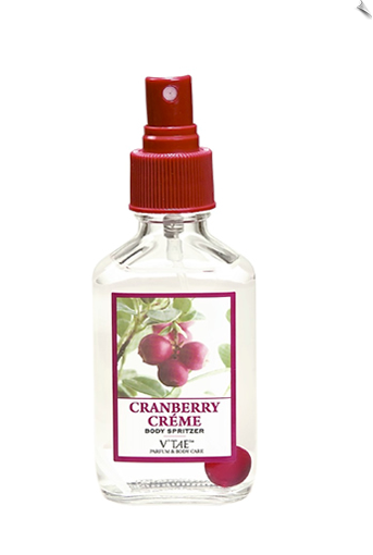 Cranberry Creme Body Spritzer, 3oz