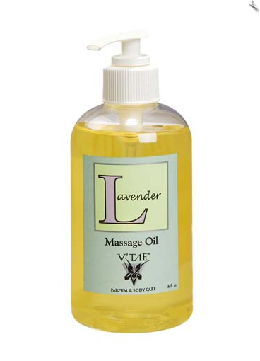 Lavender Massage Oil, 8 oz.