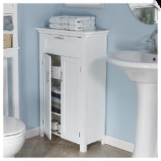 Riverridge Somerset 2 Door Floor Cabinet White